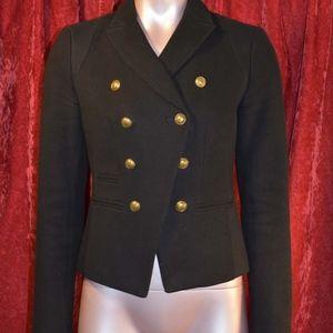 Banana Republic Jackets & Coats - Banana Republic: Military Style Blazer, Black